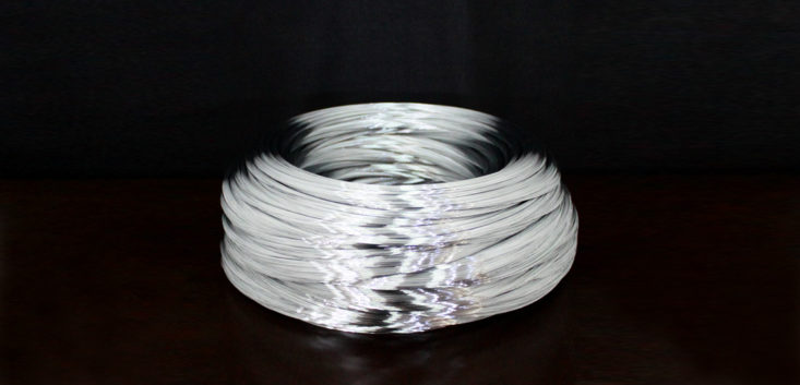 "Galvanized steel wire for spring ""Mac Wire"""