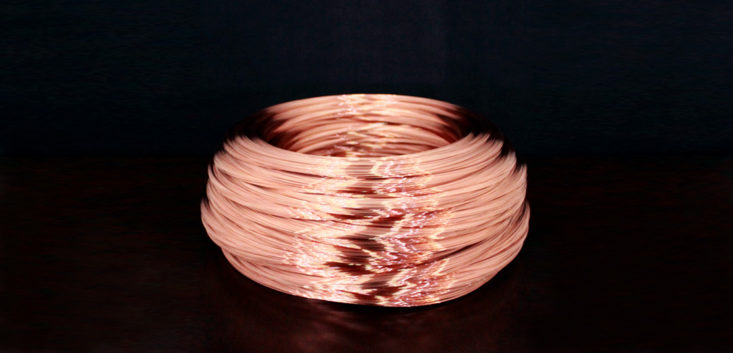 "Copper plated steel wire for spring ""Mac Wire CP"""