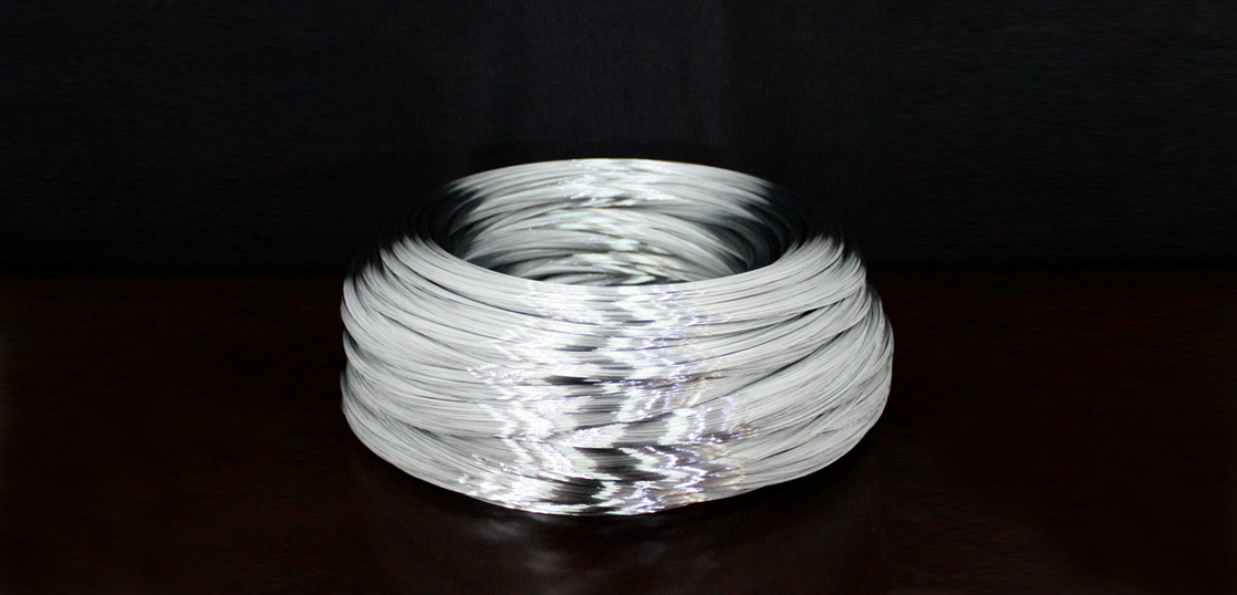 "Galvanized steel wire for spring ""Mac Wire"""